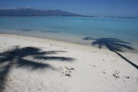 Tem'aa, the most beautiful beach on Mo'orea