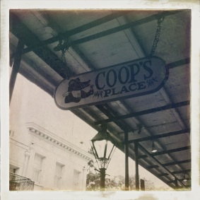 Lunch at Coop's