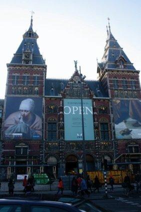 The renovated Rijksmuseum reopened in April 2013
