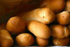 Fresh baked bread—Papeete, Tahiti