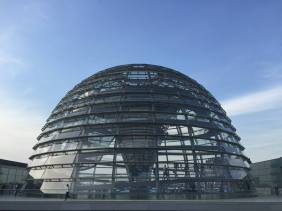 The Reichstag dome.