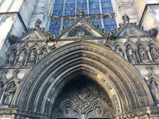 Detailing on St. Giles Cathedral