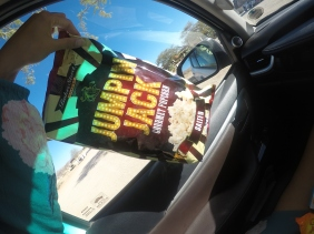 Popcorn for the road