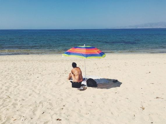 Kastriki Beach, Naxos
