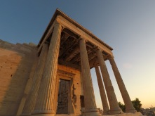 Visiting the Parthenon