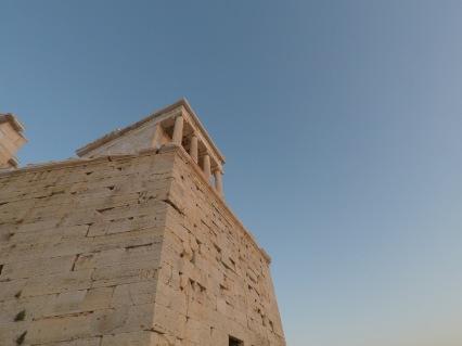Visiting the Parthenon