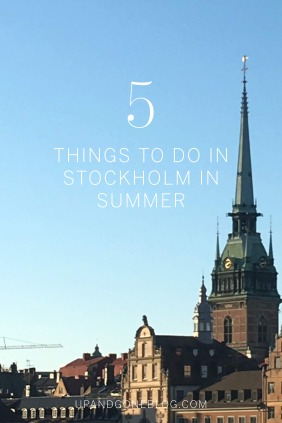 Things to do in Stockholm in summertime
